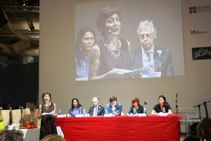 Daniela Finocchi, Sabrina Gambino, Ernesto Ferrero, Gianni Oliva, Giuliana Manica e Gabriella Rossi